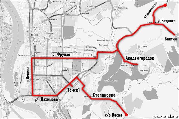 обновленный маршрут №53