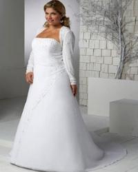 Свадебное платье для полной невесты.  161870 байтДобавлено.