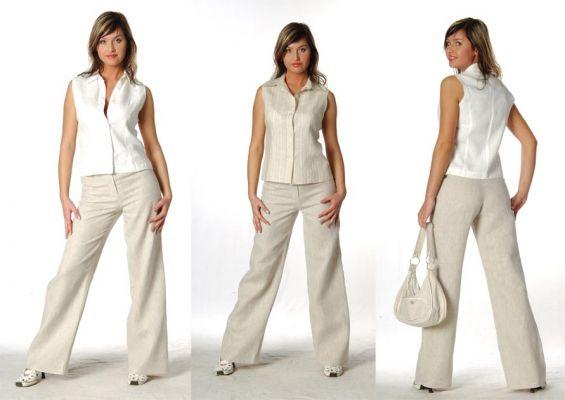 Чем хороша одежда из льняной ткани.  А какие недостатки у льняных.  Минусы одежды из льна.