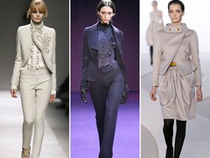Описание: Стильная деловая одежда для женщин.