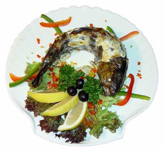 Блюдо из риса и рыбы в мультиварке