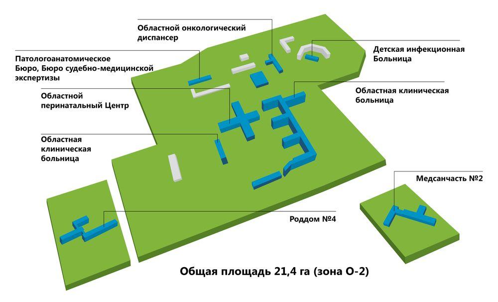 Томск обласная кленическая больница где находится карта