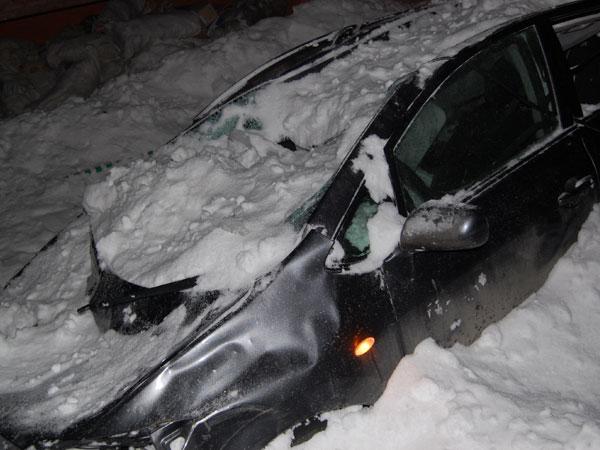 дослушала Иск о повреждении автомобиля падением сосульки ему