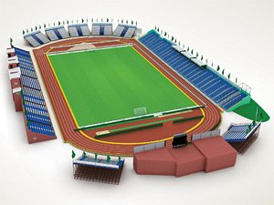 "План стадиона ""Труд"""