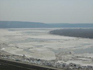 Лед пошел на территории Томска (фото)
