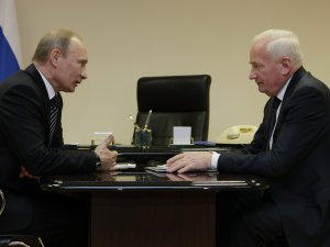 Владимир Путин и Виктор Кресс