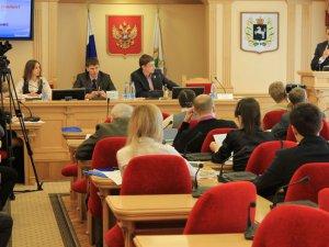 Заседание Молодежного парламента Томской области