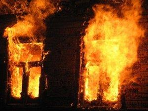 На улице Герцена ночью сгорел деревянный дом