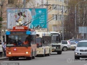 Движение транспорта по улице Усова приостановлено до 21 июля