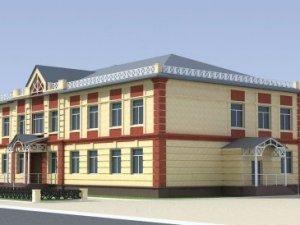 Проект строящейся школы в селе Вершинино