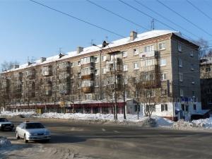 Пересечение улицы Енисейской и проспекта Комсомольского