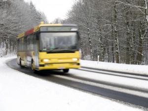 Автобус с 14 пассажирами «замерз» на загородной трассе