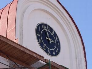 В Томске появились необычные и самые точные часы